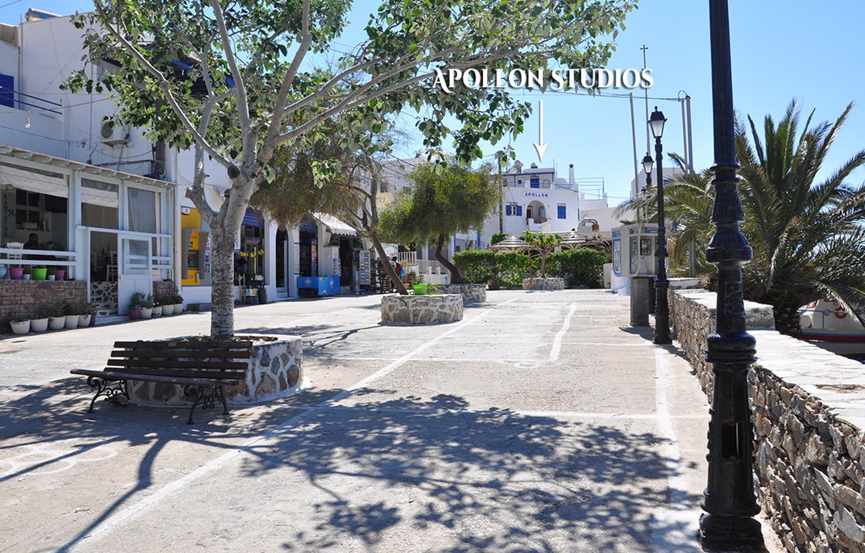 Apollon Studios Location Aegiali Amorgos