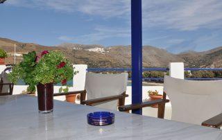Studio 6 veranda bord