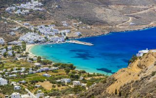 Aegiali Bay Amorgos
