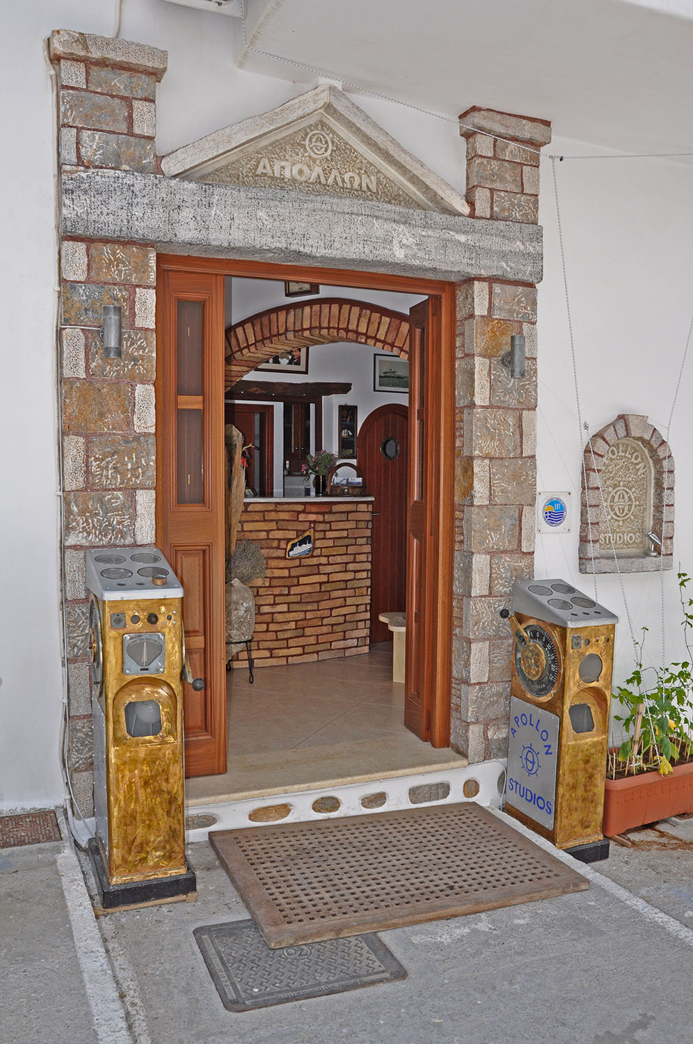 Apollon Studios entrance