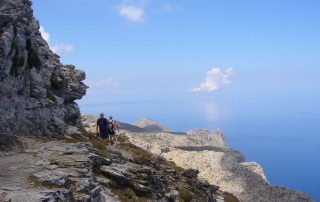 Walking on Amorgos